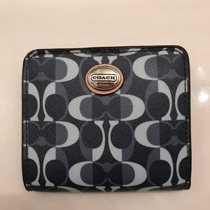 Small Coach foldable wallet